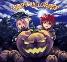 happy halloween by Simuja