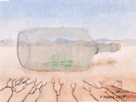 Message In A Bottle by volker03
