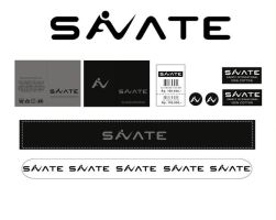 Savate Logo and Name Tag by papuaboy