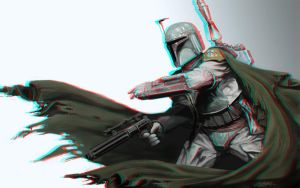The Fett 3-D conversion by MVRamsey