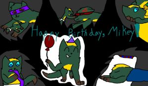 Happy Birthday, Mikey! *Contest Entry* by BerrystarLover