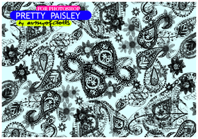 Pretty Paisley by armyofdolls