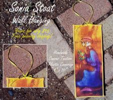 Sonia Stoat WALL HANGING by MistyTang