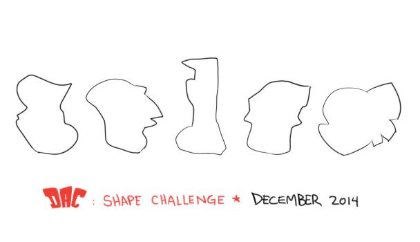 December shapes 2014 by LuigiL