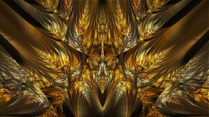 On Wings Of Gold by Frankief