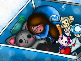 Packed Memory In A Small Toy Box by Misskatt66