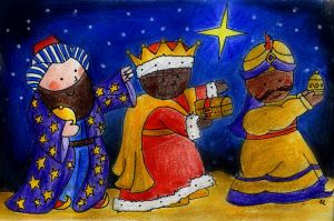We Three Kings by masterpandastudios