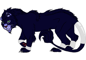 Respa the Pantherius Warrior ~Contest Entry~ by creativewithreason