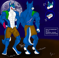 Ref: Pol Werehusky by RetroCharo