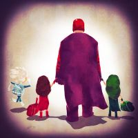 Magnetic Dad by Andry-Shango