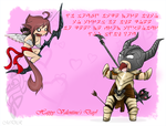 Valentines in Skyrim by Sirens-Voice