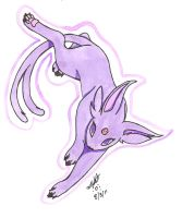 Espeon by TwinCandles
