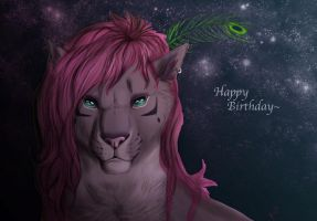 Happy Birthday SunRei by TorazTheNomad
