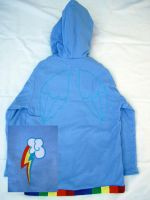 Customizable Rainbow Dash Hoodie Cosplay Outfit by Weeaboo-Warehouse