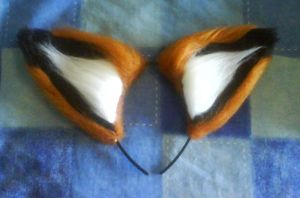 Commish - Fox Ears for Apollo by NecoStudios