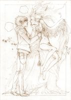moment from the manga two by Lucy-Estel