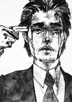 Oldboy - india ink practice by reminisense