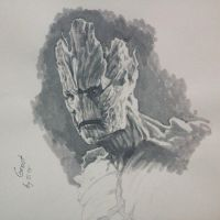 SSdS: Groot by AndrewSS7