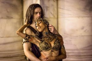 Dejah Thoris and John Carter by TheChainmailChick
