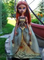 Autumn - Monster High doll customization by jen-jamieson
