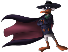 Darkwing WIP by PitchblackDragon
