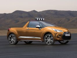 Citroen DS3 Pickup by Car-Mad-Mike