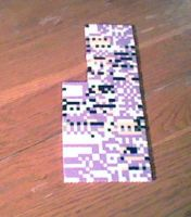 MISSINGNO. Perler Sprite by LilPinkKirby