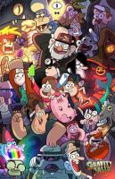 REVIEW: Gravity Falls by dudiho
