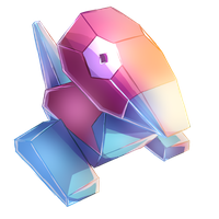 Porygon by MudSaw