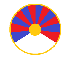 Roundel of A Tibetan Air Force by kyuzoaoi