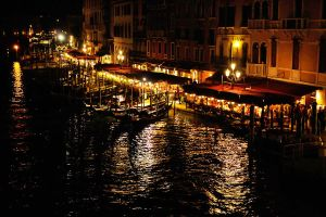 Dining near the Rialto by wildplaces