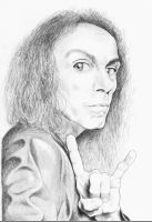 Ronnie James Dio by Panistheman