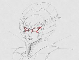 A sketch of Windblade by lucycat410