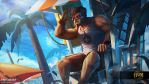HoN - Lifeguard Kane by alben