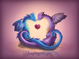 I'd Do Anything To Be Yours by AngieMyst
