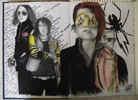 my chemical romance by DiamondVoltage