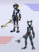 Keyblade Armor Series 3 by KajiMateria