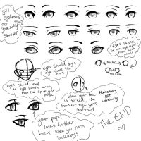 Eyes Reference Sheet by Xylerz