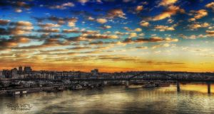 -Panorama of Belgrade II- by Pyr0sky