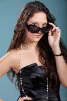 Little Black dress and Pearls3 by JasmineBelle