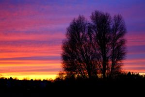 Sunset outside my window part3 by Diego-Suarez