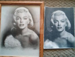 Marilyn Monroe comparison by aprilrain0607