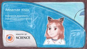 Ministry of Science ID by whitestarflower