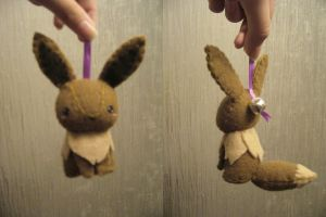 Eevee Bell Plush by Sexual-Pancake