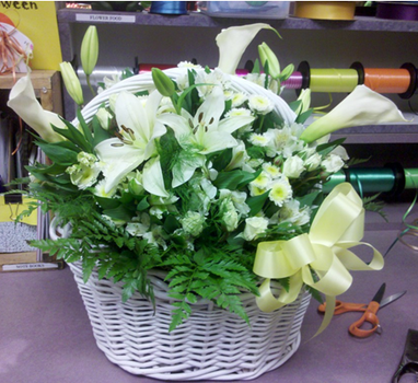 Basket arrangement by Gaarachibikun