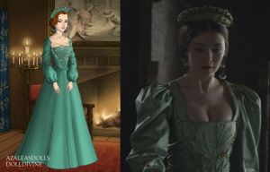 Princess Mary's Pale Green Dress by LadyAquanine73551