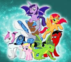 My Little Titans by Inkheart7