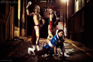 Street Fighter: Round 1! by HayleyElise