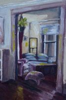 Morning Light in the Living Room (study) by Ghretchen