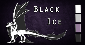 Reference sheet: Black ice by Lycandra